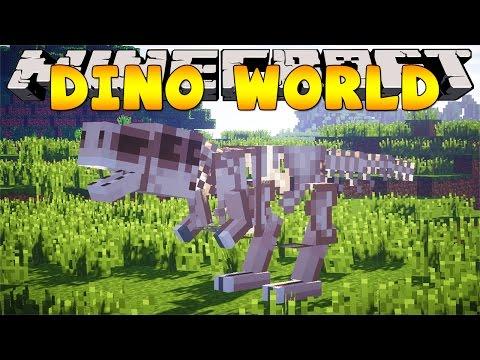 Minecraft School Invitation To Dinosaur World Funnydog Tv