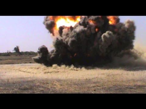 Anti Tank Mine Testing