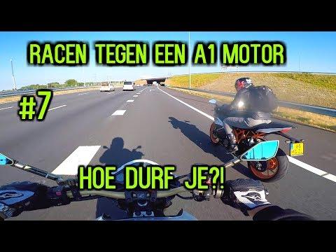 #7 Racen tegen een A1 motor, hoe durf je?!