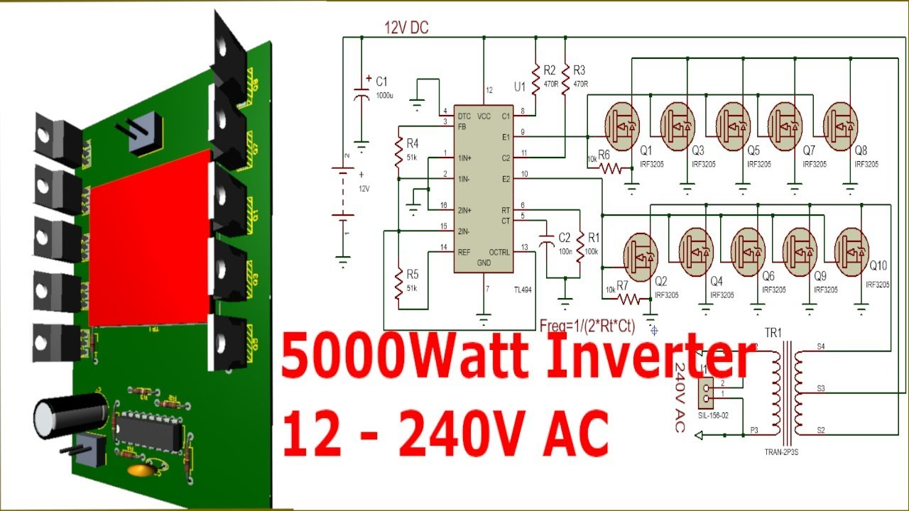 Electrical Inverter Wiring Diagram