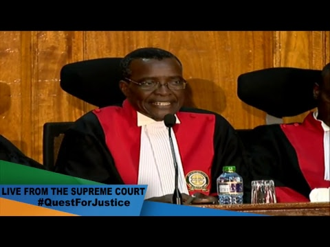 Live as the Supreme Court begins the hearing of the Poll Petition #QuestForJustice