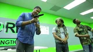 Emmanuel & Phillip Hudson - Gun Safety Comedy Sketch