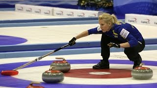 CURLING: SWE-DEN Euro Chps 2015 - Women Draw 5