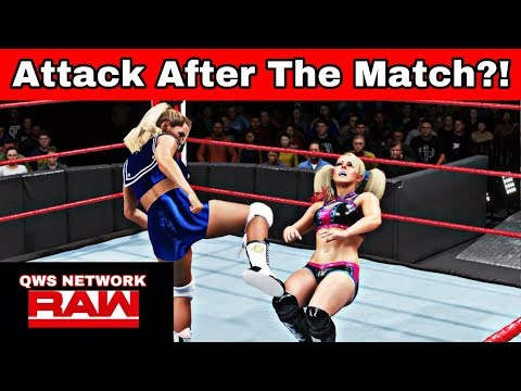 QWS RAW| Lacey Evans vs Alexa Bliss [WWE 2K20]