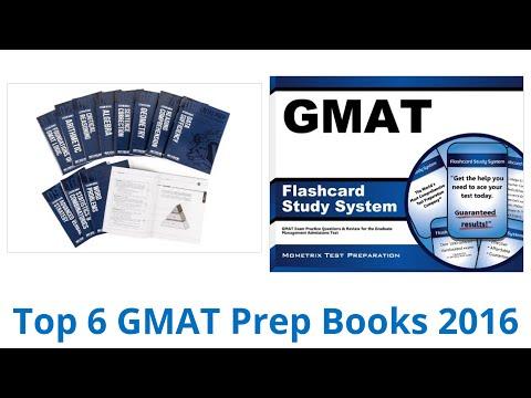 6 Best GMAT Prep Books 2016