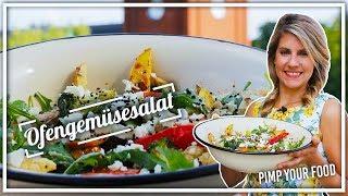 Köstlicher Ofengemüse-Salat | perfekte Beilage zum Grillen  |  Felicitas Then | Pimp Your Food