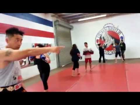 Fresno Fight Club Women's Muay Thai Class