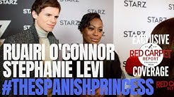 Ruairi O'Connor & Stephanie Levi-talk about their new STARZ show #TheSpanishPrincess #TCA19 #STARZ
