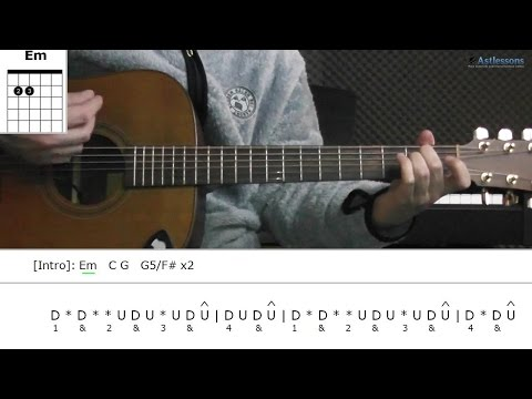 How to play Sleeping Sickness with City And Colour (Guitar lesson)