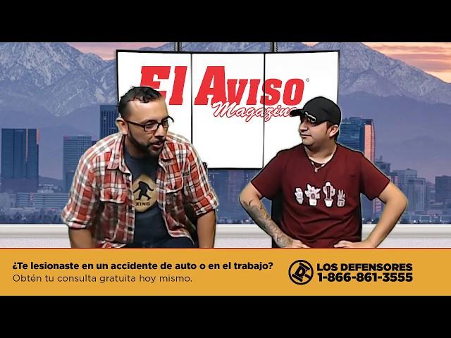 ENTREVISTA A MARIO AGUILAR EN LOS ÁNGELES (EN VIVO) - EL AVISO MAGAZINE