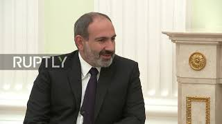 Russia: Putin meets with Pashinyan in Moscow