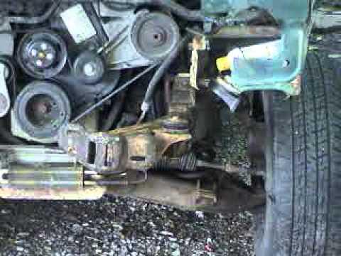 ford ranger damaged front frame tips