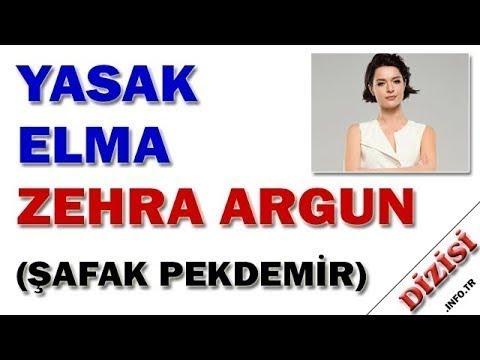 Zehra Argun Kimdir?  Yasak Elma  - Şafak Pekdemir -  Fox TV