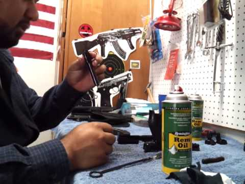 cleaning and talking about the walther ppx