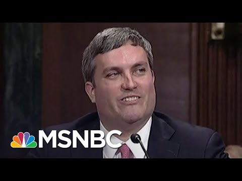 President Donald Trump Nominee For Federal Judge Has Never Tried A Case | All In | MSNBC