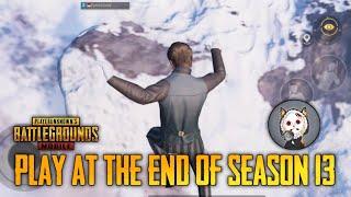 play at the end of season 13