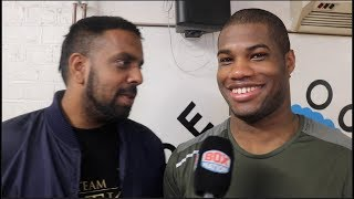 DANIEL DUBOIS TALKS ANTHONY JOSHUA, JOE JOYCE, BIRTHDAY CELEBRATION & SPARRING KUGAN CASSIUS