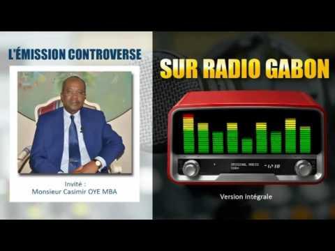 M.Casimir OYE MBA Invité de l'émission Controverse sur Radio Gabon