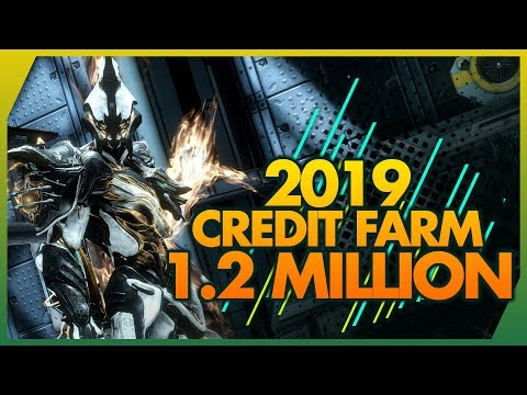 Warframe: AMAZING META Solo Credit Farm 2019 - 1,200,000 Credits Insanely Fast & Easy!