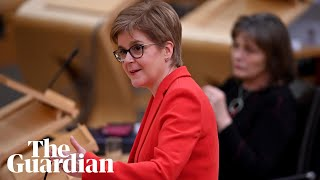 Nicola Sturgeon gives update on Scotland's Covid restrictions – watch live