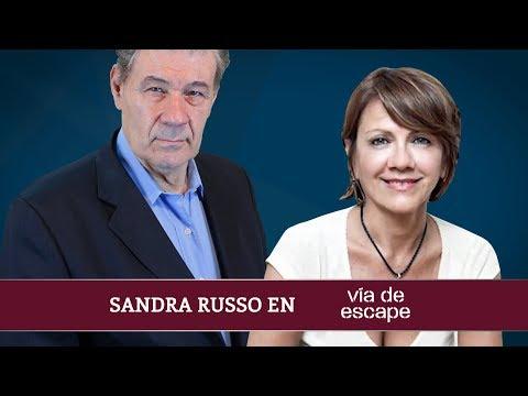 Sandra Russo en Vía de Escape con Víctor Hugo Morales