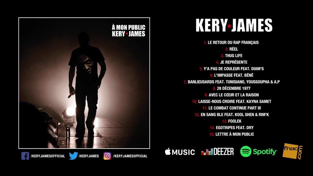 Kery James - À mon public