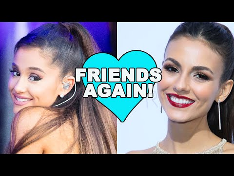 Ariana Grande & Victoria Justice End Their Feud | Hollywire