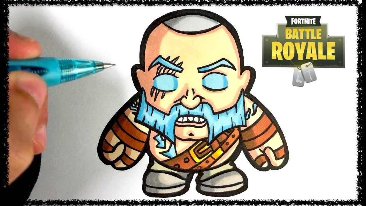 Baby Pop Comment Dessiner Ragnarock Fortnite Youtube