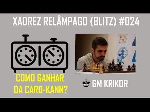Blitz #024 - Match vs GM filipino e MI alemão