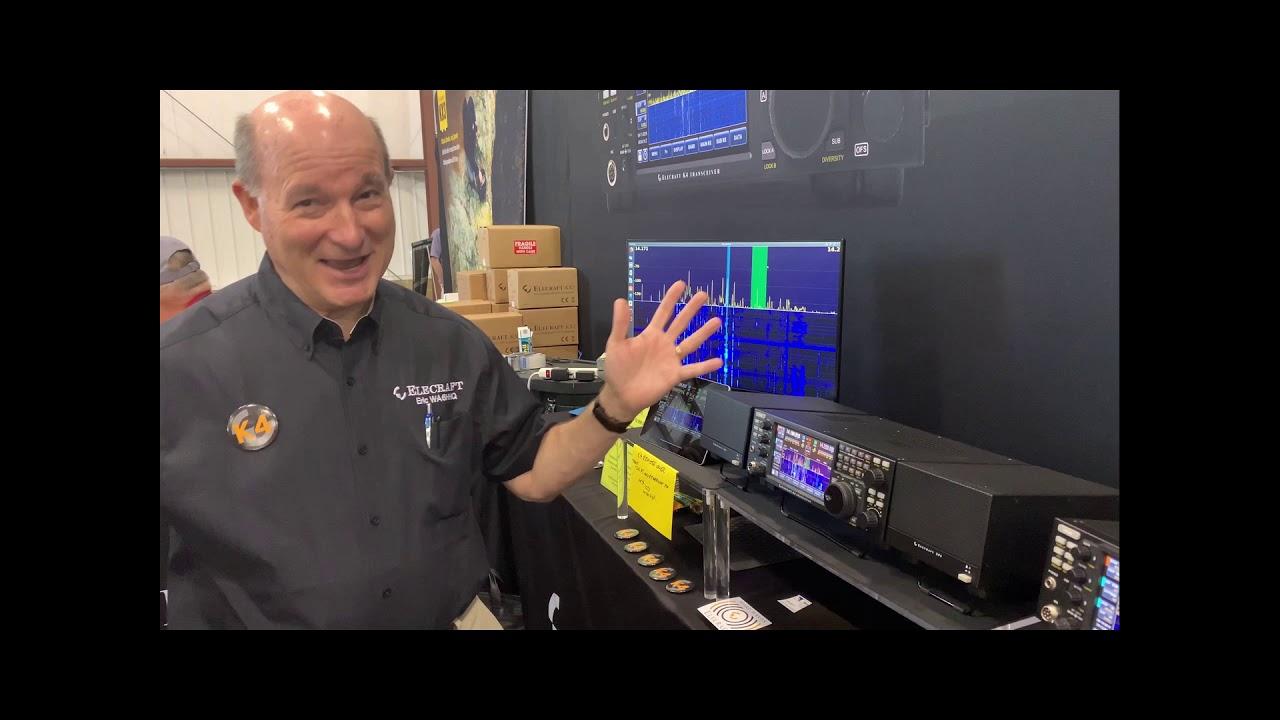 Elecraft K4 Q&A Eric Swartz WA6HHQ - NG7M @ Hamvention 2019