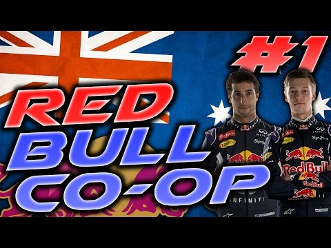F1 2015 Red Bull CO-OP #1: Australia