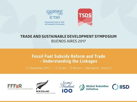 Fossil Fuel Subsidy Reform and Trade - Understanding the Linkages
