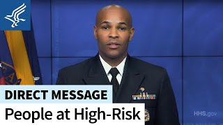COVID-19   Important Information for People at High-Risk   Ad Council PSA
