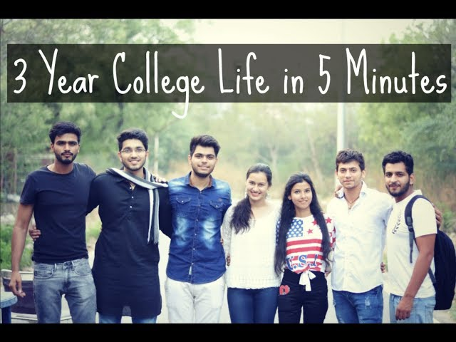 Engineering- My 3 Years of College Life in 5 minute Video