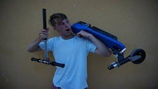 Scooter eléctrico + truco para mejorarlo VS  SCOOTER PARA TRUCOS
