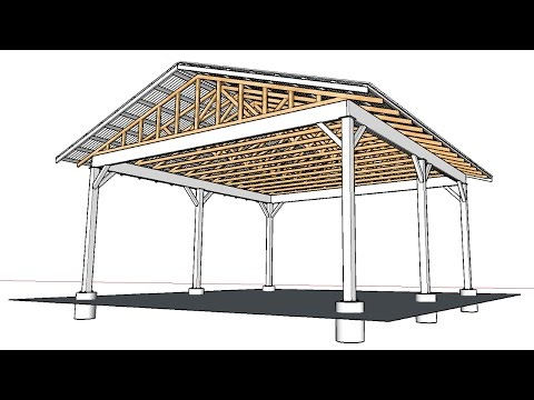 April Wilkerson Response on How to Build an Open Carport