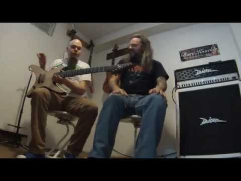 MARC CHICOINE with LUC LEMAY from GORGUTS - Part II - Luc's guitar (Guitars)