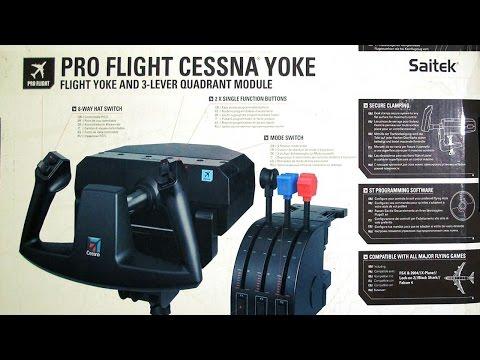 Saitek Pro Flight Cessna yoke review