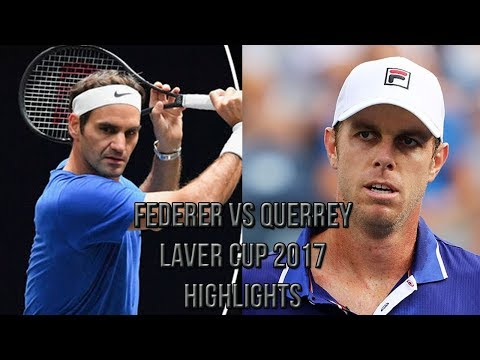 Roger Federer Vs Sam Querrey - Laver Cup 2017 (Highlights HD)