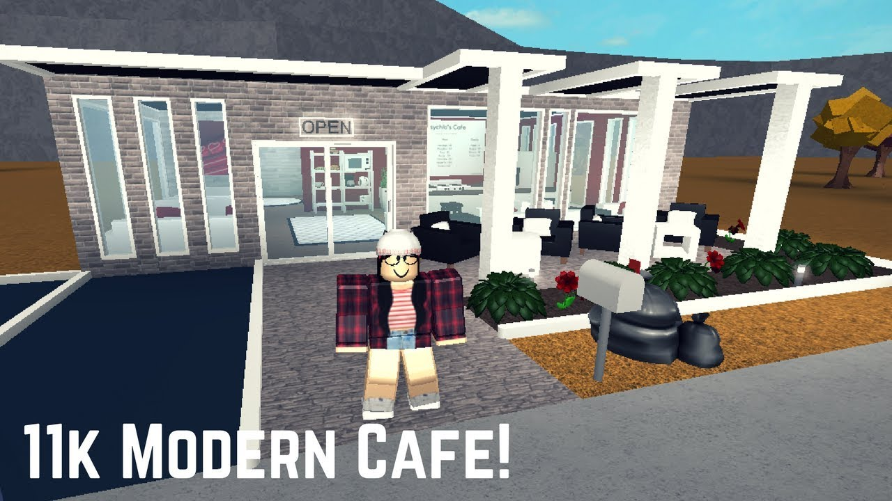 Roblox Welcome To Bloxburg 11k Modern Cafe No