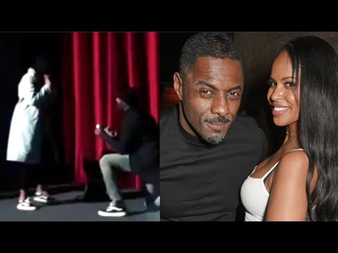 Idris Elba proproses to girlfriend Sabrina Dhowre. SO SWEET!