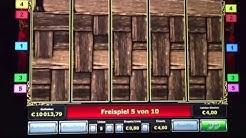 Faust Freispiele auf 4 Euro mit Goethe-Symbol