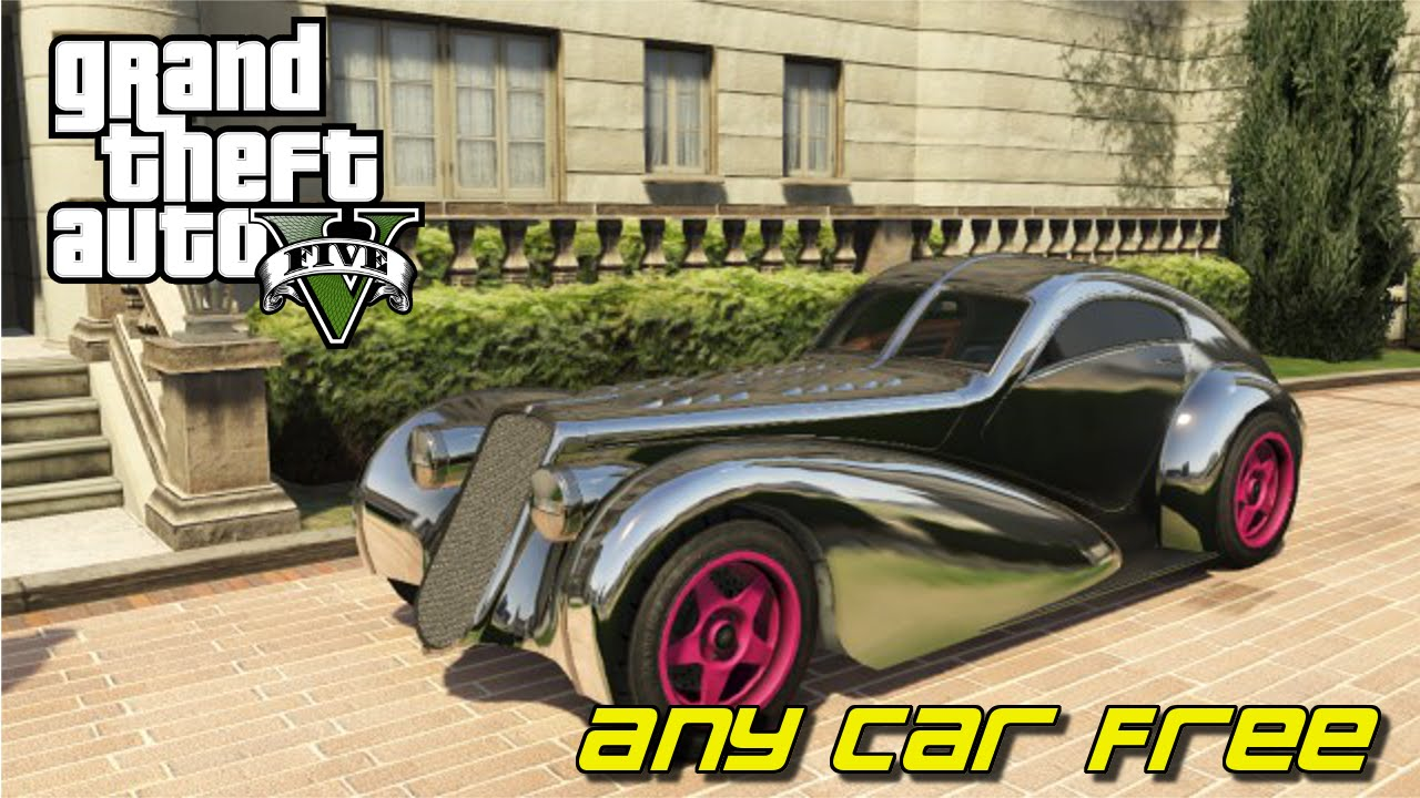 GTA V- How To Buy Any Car For Free Story Mode !!! - YouTube