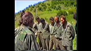 Zarobljeni četnici na Rogoju