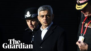'The best of humanity': London mayor praises bystanders who stopped London Bridge attacker