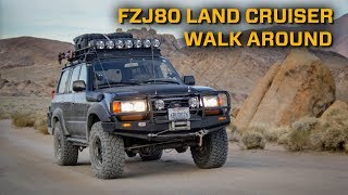 Our FZJ80 Land Cruiser Walk Around: Why is it one of the best overland vehicles?!