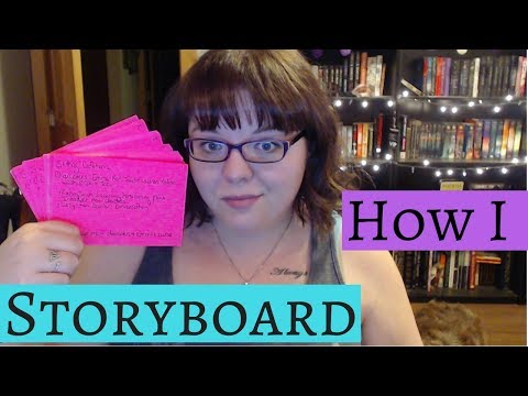 How I storyboard / Note card method?