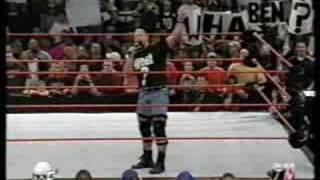 Stone Cold - Segment - Raw 1  21  2002