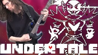 Undertale BATTLE AGAINST A TRUE HERO - Metal Cover || ToxicxEternity