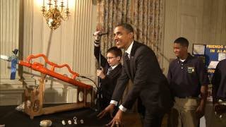 Raw Video: Marshmallow Launch At The White House
